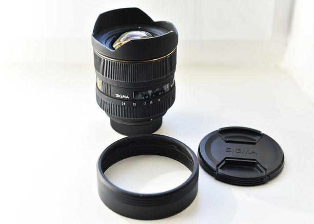 SIGMA EX 12-24mm, f4,5-5,6\DG HSM