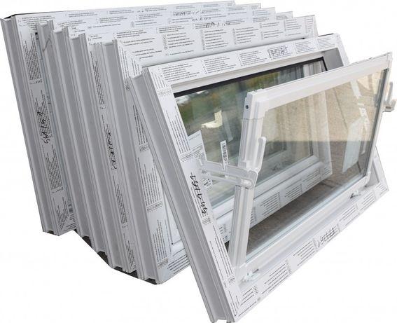 Okna inwentarskie PCV Nowe uchylne różne wymiary