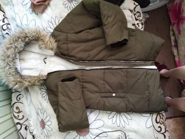 Зимня дуже тепла куртка