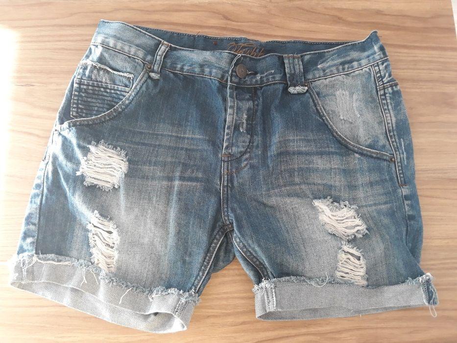 Spodenki jeansowe, krótkie rozm. XL Świebodzin - image 1