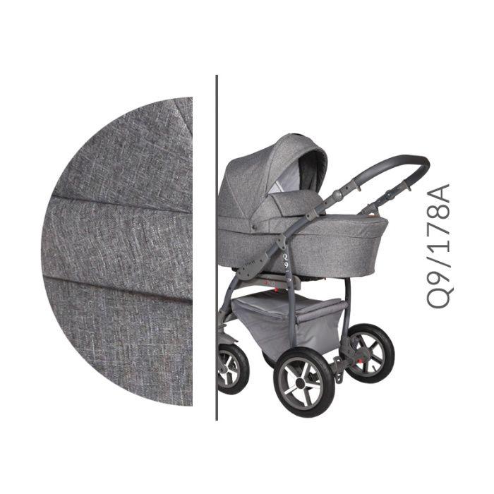 Wózek dziecięcy Q9 wielofunkcyjny gondola Biała - image 1
