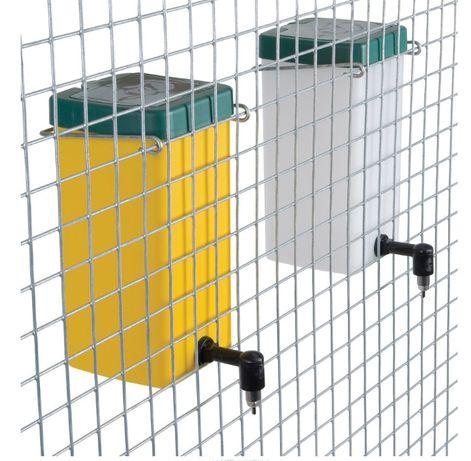 Poidło dla królików 1L żółto/ zielone