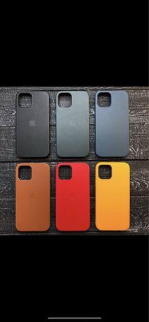 Чехол кожаный magsafe iphone 12 11 x xs xr max pro mini 7 8 plus кожа