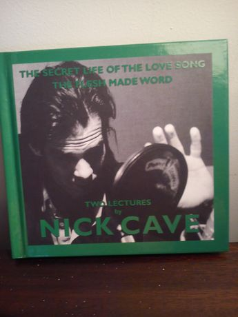 "Nick Cave ""The Secret Life Of The Love Song/Flesh Made Word"" RARO"