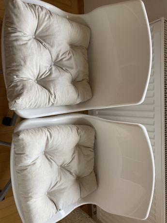 2xpoduszka na krzeslo  malinda z Ikea  bardzo dobry stan  czyste