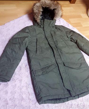 Długa kurtka zimowa 140 H&M