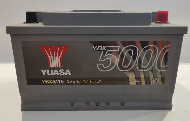 Akumulator YUASA YBX5115 85Ah 800A Promocja!!!