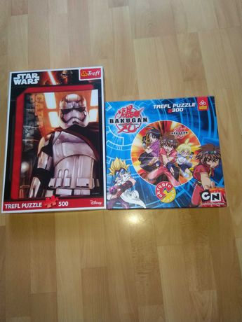 Puzzle Bakugan i Star Wars