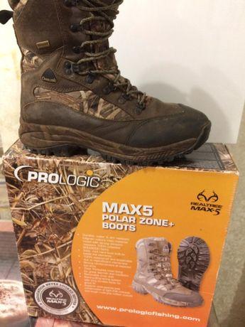 Продаються черевики для охоти і рибалки ProLogic max 5(Бельгія)