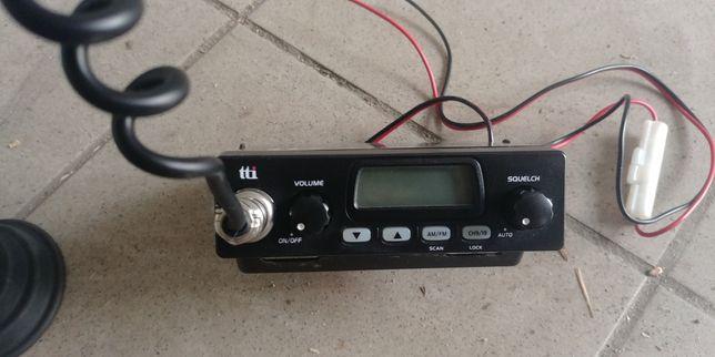 Cb radio TTI AUTOSQELUCH z anteną President