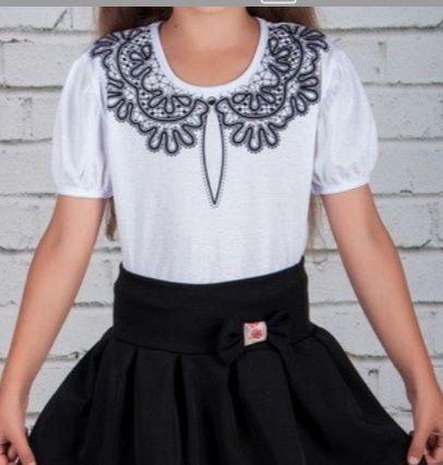 Блузка, блуза, футболка в школу