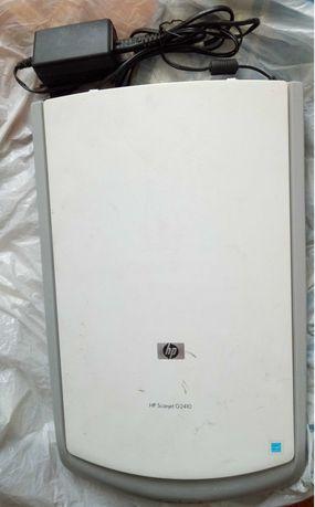 Продаю рабочий б/у сканер HP G2410