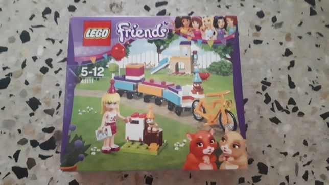 Lego Friends Urodzinowy pociąg 41111