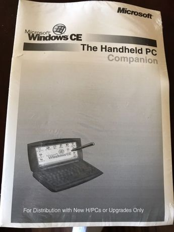 Microsoft oprogramowanie Windows CE The Handheld PC Companion