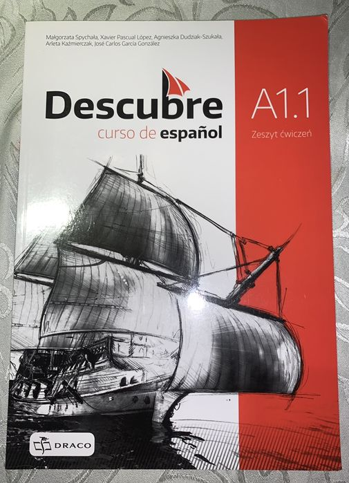 Descubre A1.1 cwiczenia i podrecznik j. Hiszpanski Stronno - image 1