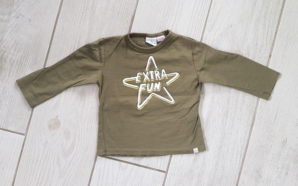 Bluzka z długim rękawem Zara r. 86 Darłowo - image 1