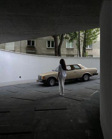 Mercedes coupé na ślub, wesele, sesję, do reklamy. Retro / Klasyk