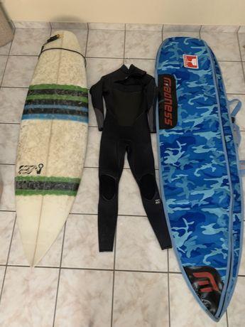 Prancha surf 6.1 com saco