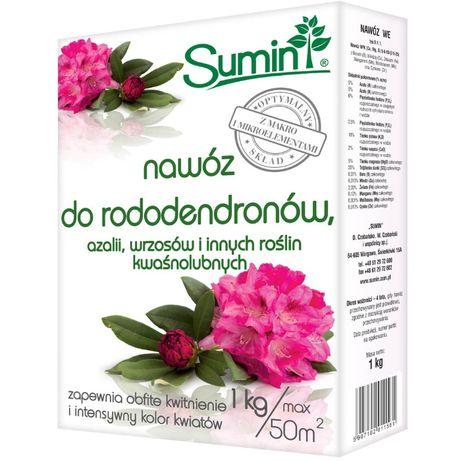 Nawóz do rododendronów, azalii i innych kwaśnolubnych 1kg