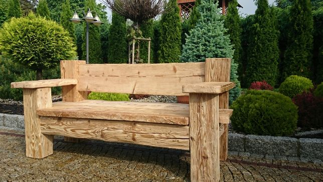 Ławka (sofa) rustykalna,stare drewno 5500