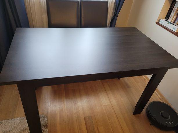 Stół do jadalni, kolor wenge