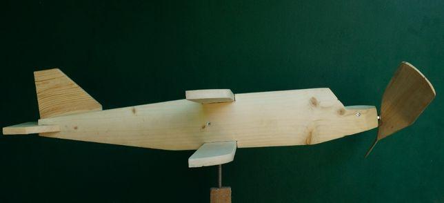 Самолет АН-2 утка декоративный садовый флюгер