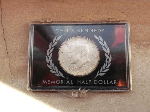 Dolar Americano Jfk Memorial 1964