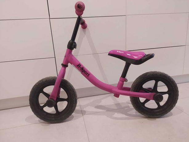 Rowerek biegowy, różowy, koła 12 ''