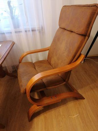 Fotel drewniany stan dobry