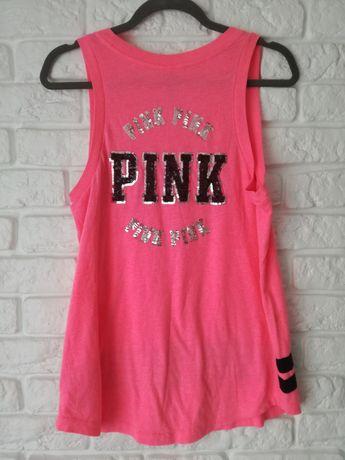 Różowa bluzka Victoria's Secret Pink, rozmiar M