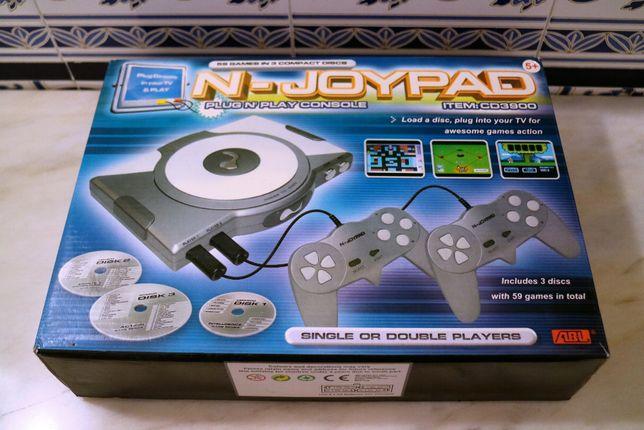 Consola N-Joypad com 59 Jogos