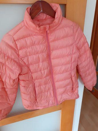 superlekka pikowana kurteczka dziewczęca Cubus 146 kolor oranżady