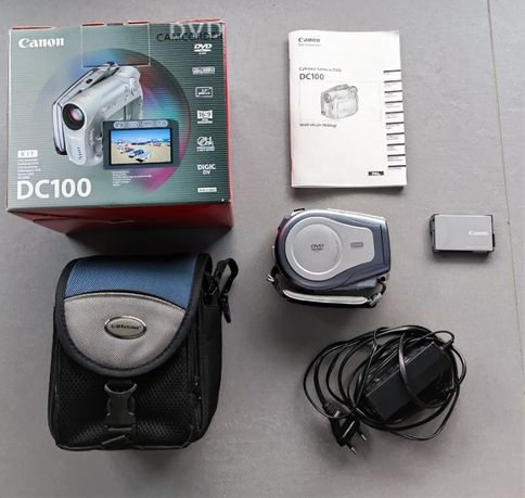 Kamera Canon DVD DC 100