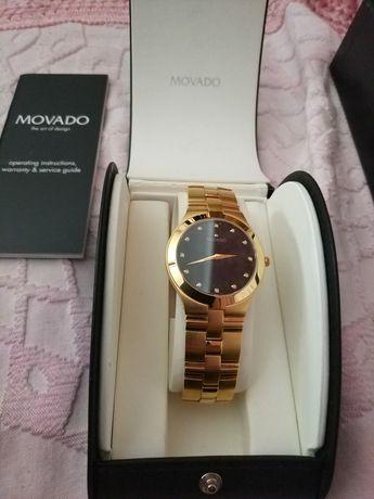Relógio Movado, com diamantes