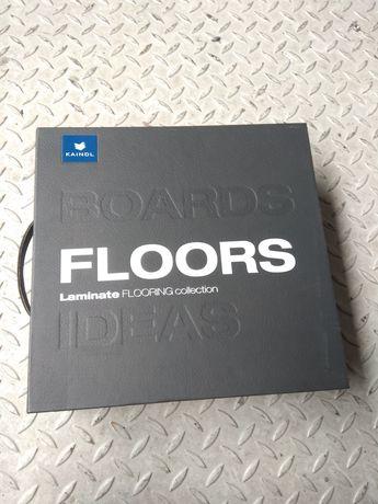 Wzornik paneli podłogowych Kaindl Flooring walizka