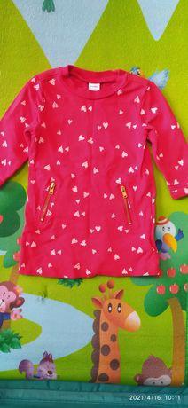 Платье на девочку 0-3 месяца