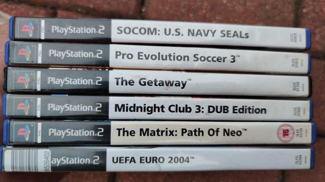 Sprzedam gry do PlayStation 2