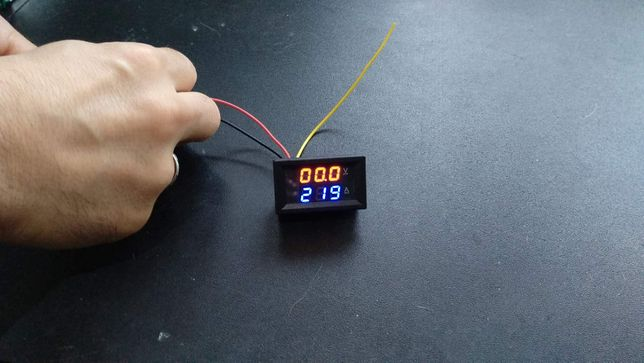 Medidor voltagem/amperagem
