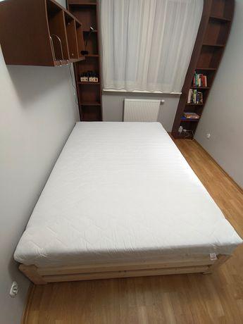 Rama łóżka z materacem 140x200 Pilnie sprzedam
