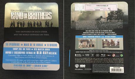 Blu-ray Irmãos de Armas / Caixa Metálica (Ed. PT) - portes incluídos
