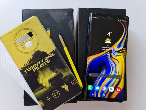 Uszkodzony Samsung Galaxy Note 9 N960F 6GB/128GB
