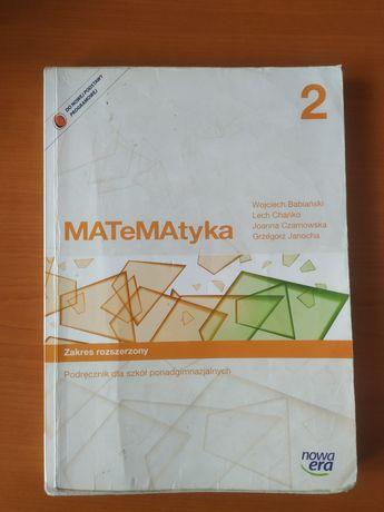 Matematyka 2 podręcznik do matematyki zakres rozszerzony