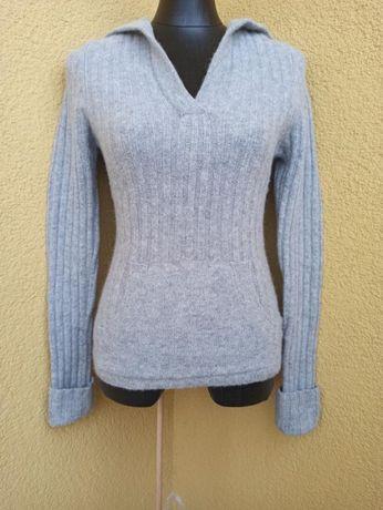 Шерстяной свитер кофта женская lambswool bik bok