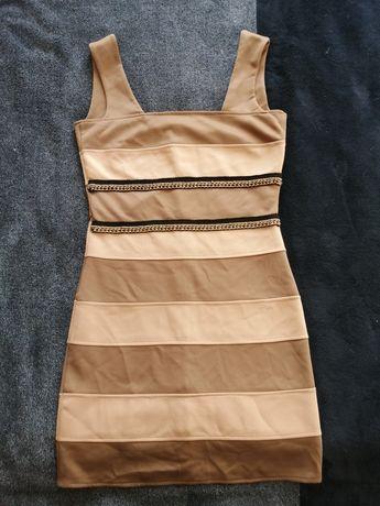 Платье футляр мини