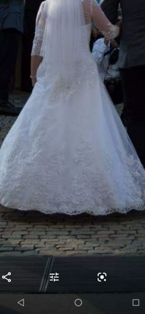 Suknia ślubna salon sukni ślubnych celebrity rozmiar 38