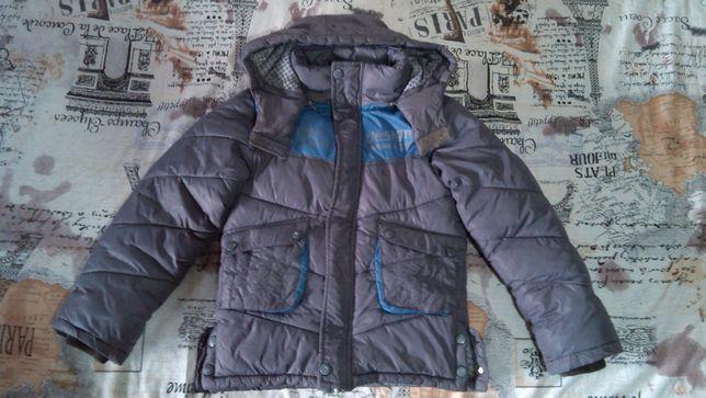 детская зимняя куртка на рост 116-128