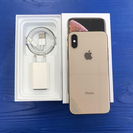 iPhone XS 256 gb gold neverlock, Trade-in/гарантия/рассрочка