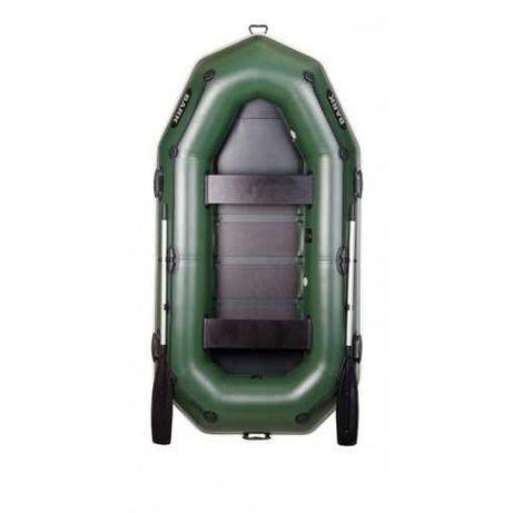 Надувная лодка гребная двухместная Bark B-270 Гарантия 3 года