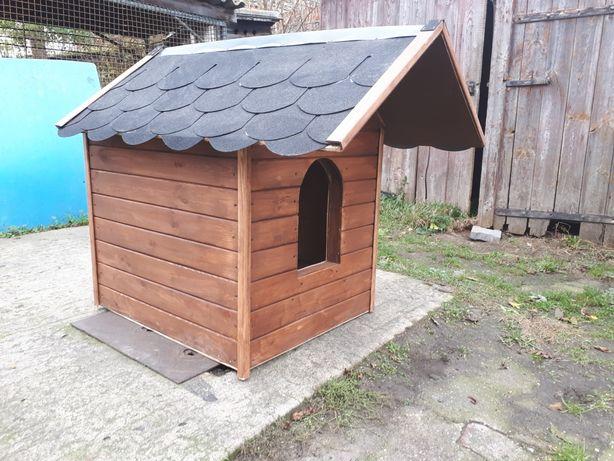 Buda dla psa ocieplana otwierany dach, okazja