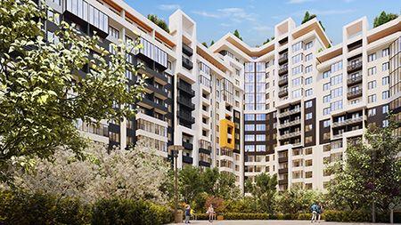Продается 3 комнатная квартира 71,2 м² (555 $) рассрочка 5 лет